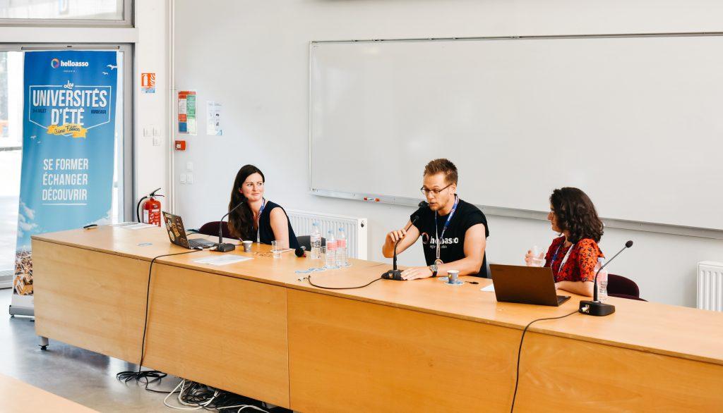 Universités d'été, HelloAsso et OHME, 2019
