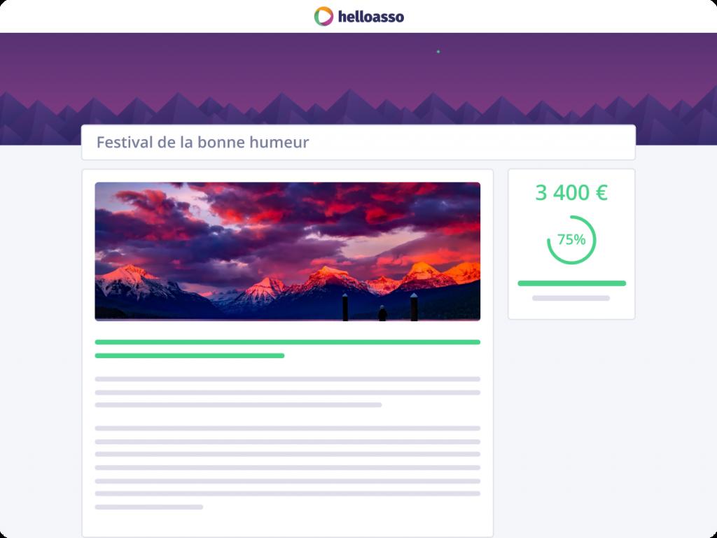 Crowdfunding sur HelloAsso